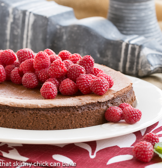 Chocolate Mousse Torte from That Skinny Chick Can Bake