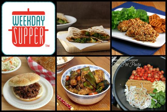 Weekday Supper 1.13-1.17