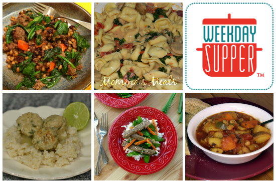 Weekday Supper 12.9 - 12.13