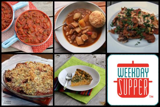 weekday supper 10.21-10.25