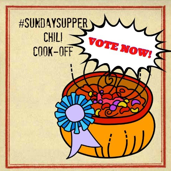 VOTE NOW Sunday Supper Chili Cook-Off