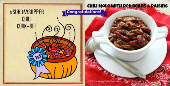 Sunday Supper Chili Cook-Off Winner