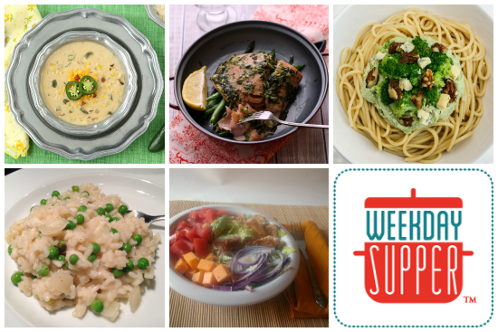 Weekday Supper 3.17-3.21