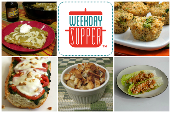 Weekday Supper 3.24-3.28