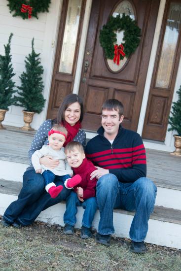 Alida and family