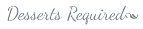 Desserts Required logo