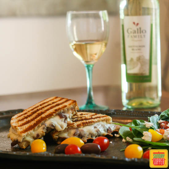 French Onion Grilled Cheese from Family Foodie