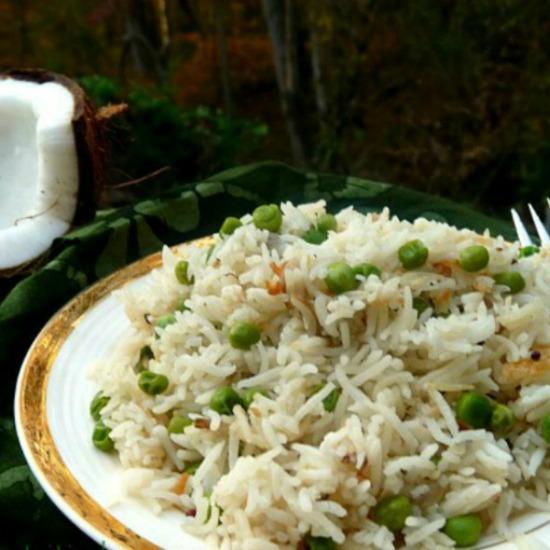 Coconut Rice Pilaf