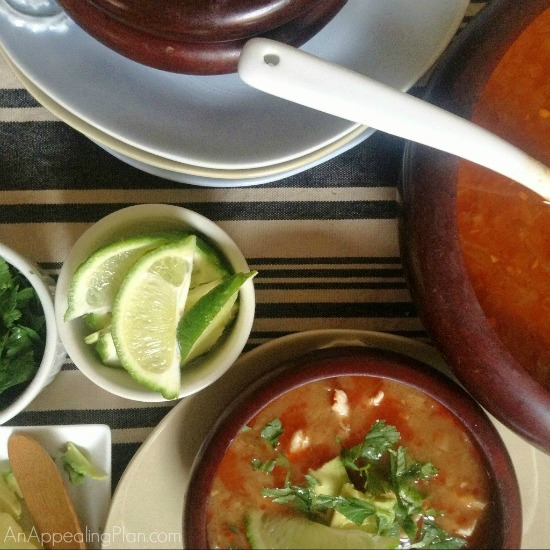 Houston's Tortilla Soup Recipe