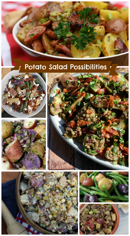 Potato Salad Possibilities