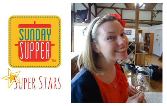 Sunday Supper Super Stars - Jennie from The Messy Baker