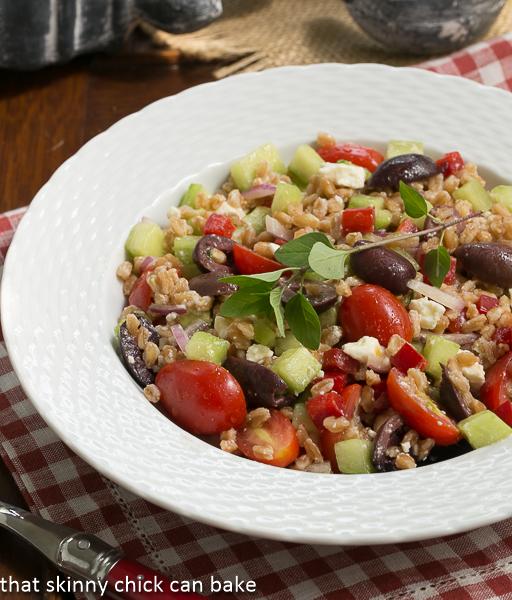 Greek Farro Salad