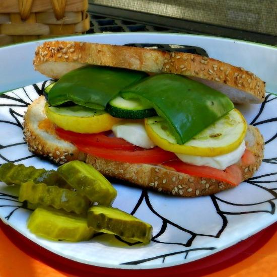 Veggie Loaded Sandwiches