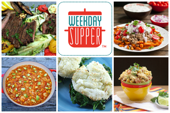 Weekday Supper Menu July 7-11