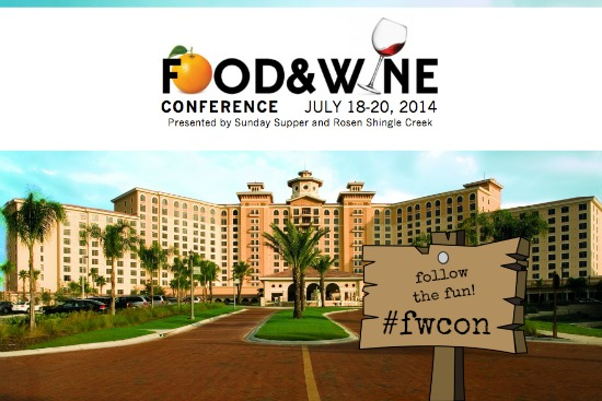 Join us virtually for the 2014 Food and Wine Conference at #fwcon!