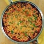 One Pot Mexican Chicken Pasta #WeekdaySupper