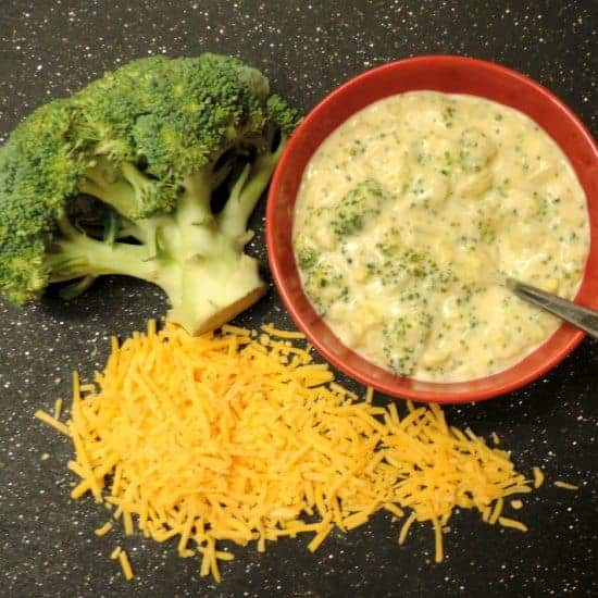 Broccoli cheese soup #WeekdaySupper