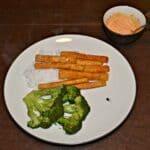 Broccoli Steaks and Tofu Fries #WeekdaySupper