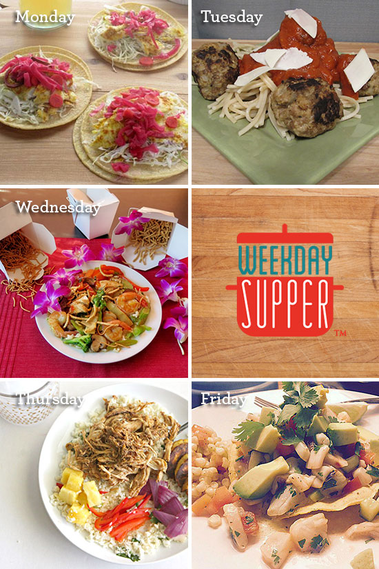 August 24-28 #WeekdaySupper