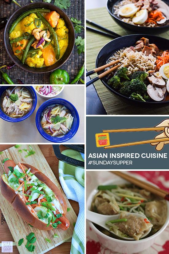 Asian Inspired Cuisine #SundaySupper