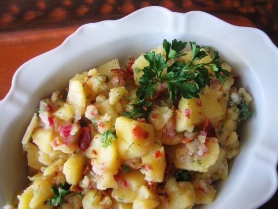 Authentic German Potato Salad #WeekdaySupper