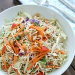 Crispy Asian Noodle Salad #WeekdaySupper