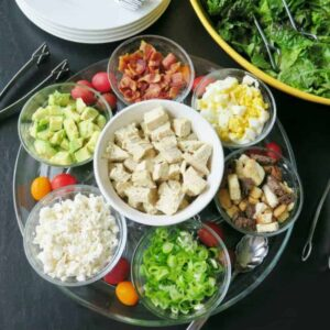 Cobb Salad Bar #WeekdaySupper