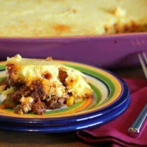 Easy Tamale Pie #WeekdaySupper