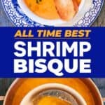 Save Shrimp Bisque on Pinterest!