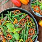 Asian Beef and Green Bean Stir-Fry #WeekdaySupper