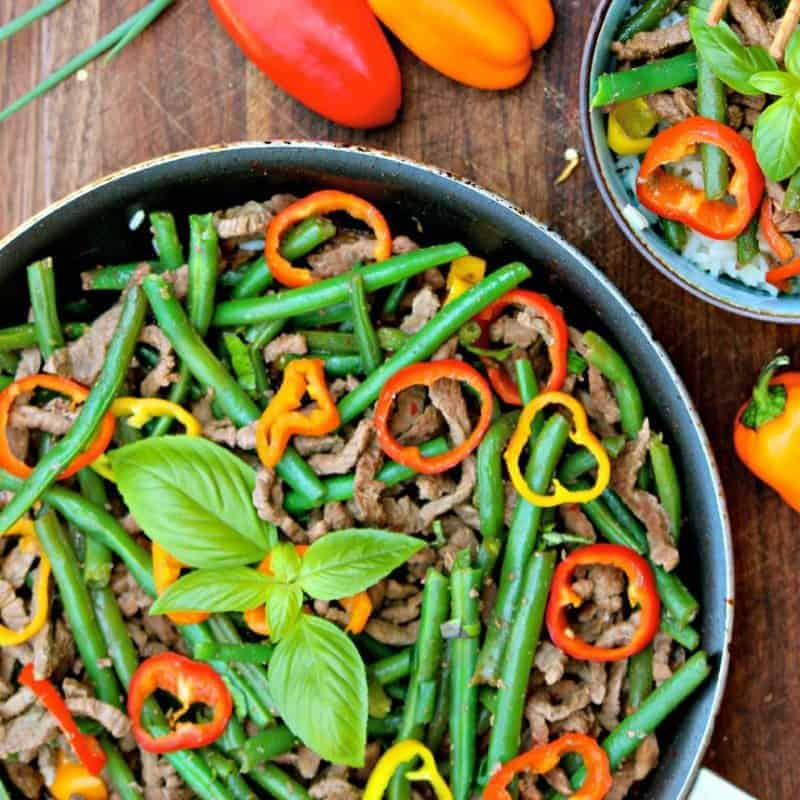 Weekday Asian Beef and Green Beans Stir-Fry
