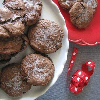 Flourless Fudge Cookies in the Cookie Jar