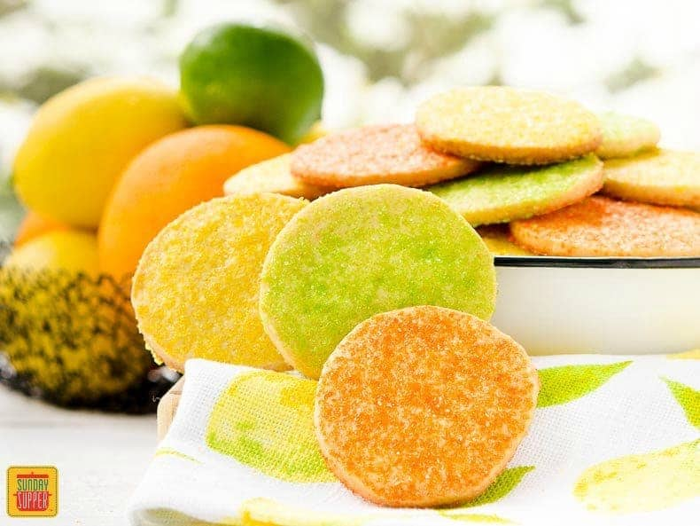 Sunshine Citrus Cookies in The Cookie Jar   Sunday Supper Movement