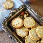 Nutty Slice and Bake Shortbread