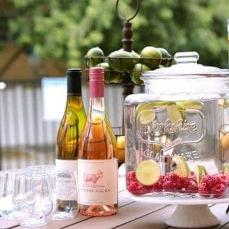 How to: Creating a Beverage Station for your Summer Party