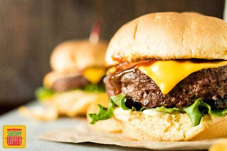 BBQ Burgers Photo Styling Tips #SundaySupper