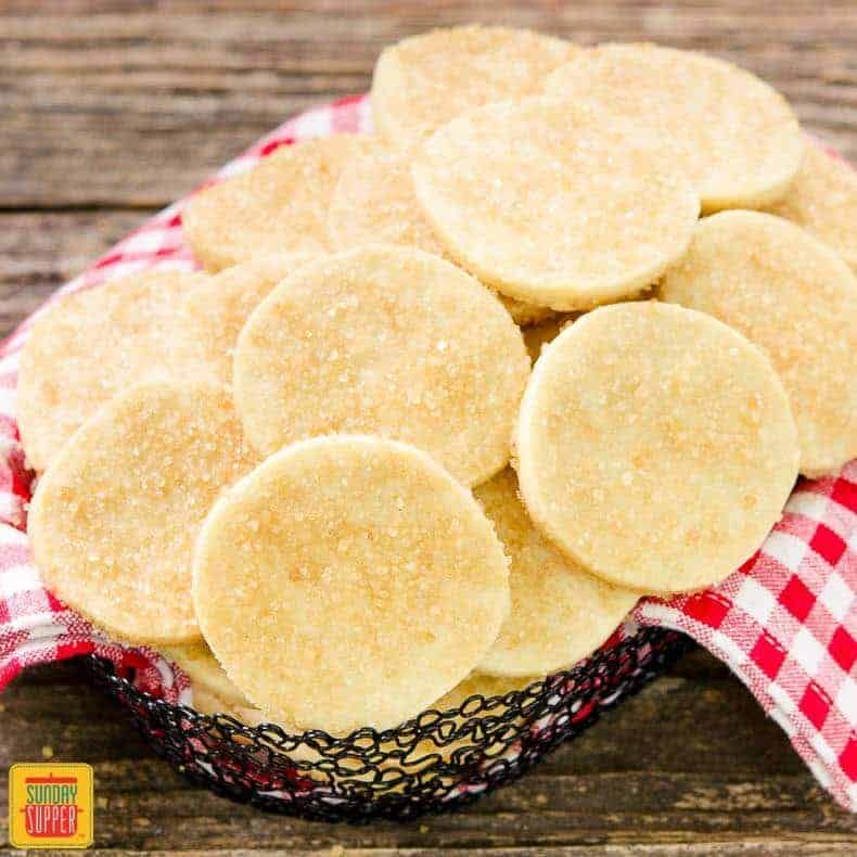 Classic Sugar Cookies - #SundaySupper Cookie Jar