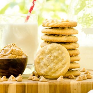Double Peanut Butter Cookies in The Cookie Jar