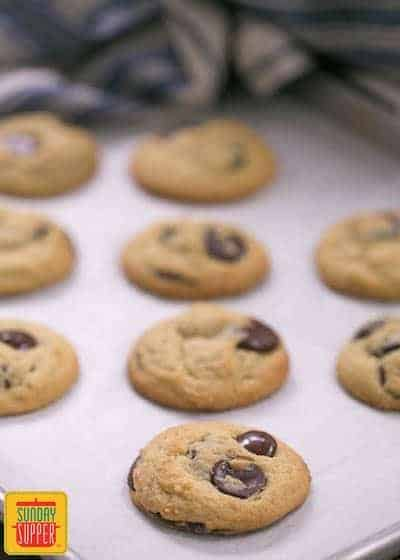 Soft chocolate chip cookies #SundaySupper