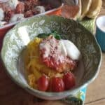 Three Cheese Pork Parmesan from Dinner at Home #WeekdaySupper