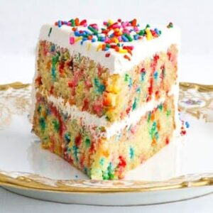 Gluten Free Confetti Cake From Cake Magic By Caroline Wright