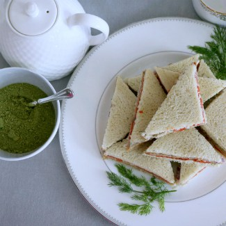 Best Smoked Salmon Tea Sandwiches plus Top Tips for Throwing a Tea Party
