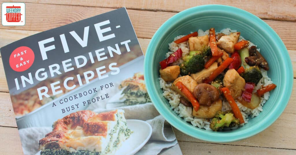Easy Chicken Stir-Fry #WeekdaySupper #Giveaway