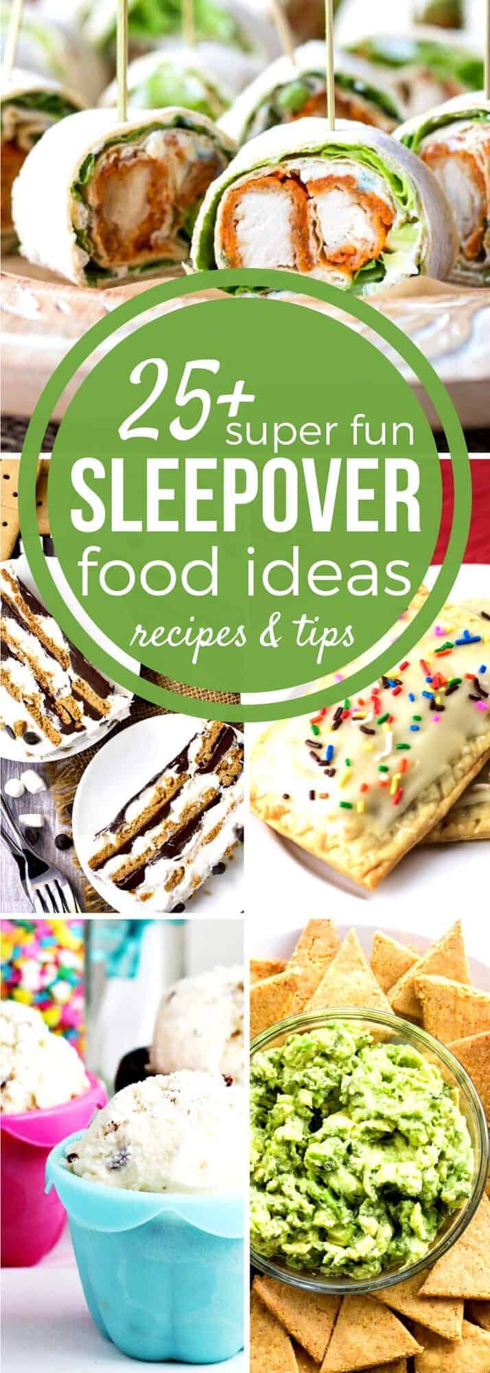25 must have sleepover food ideas sundaysupper need sleepover food ideas for the big party our sunday supper recipe collection has fun forumfinder Images
