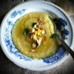 Smoky Corn Chowder from A Modern Way to Cook #WeekdaySupper #Giveaway
