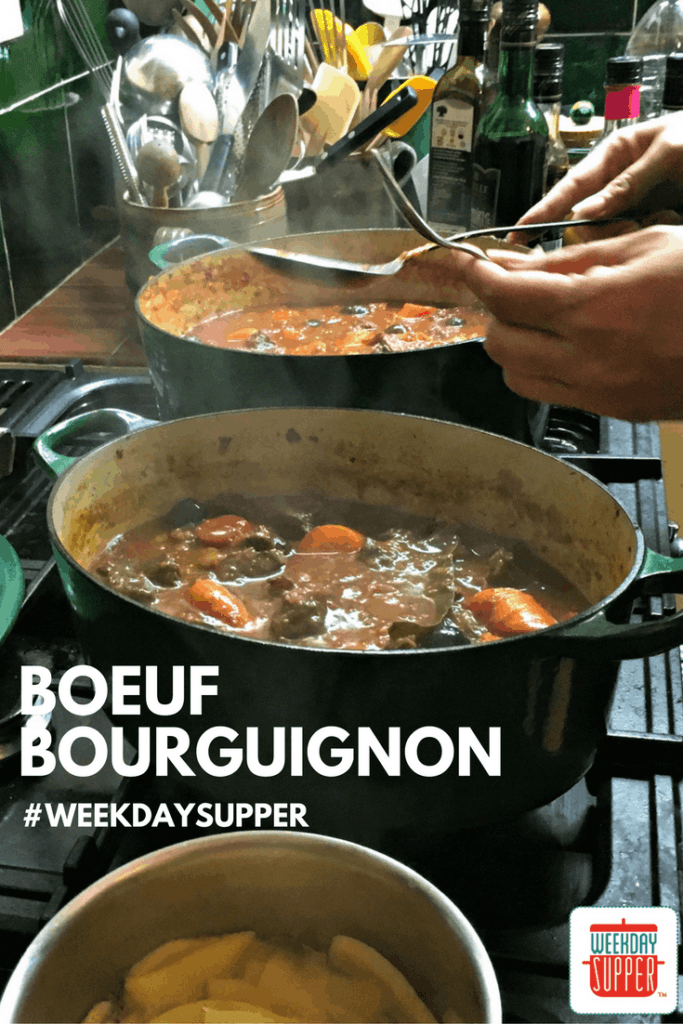 Beef Bourguignon #WeekdaySupper #CookingwithJulia
