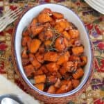 Marmalade Glazed Sweet Potatoes #SundaySupper