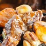 Beef bourguignon recipe pin