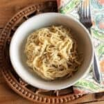 Spaghetti Cacio e Pepe from Handmade Pasta #WeekdaySupper #Giveaway