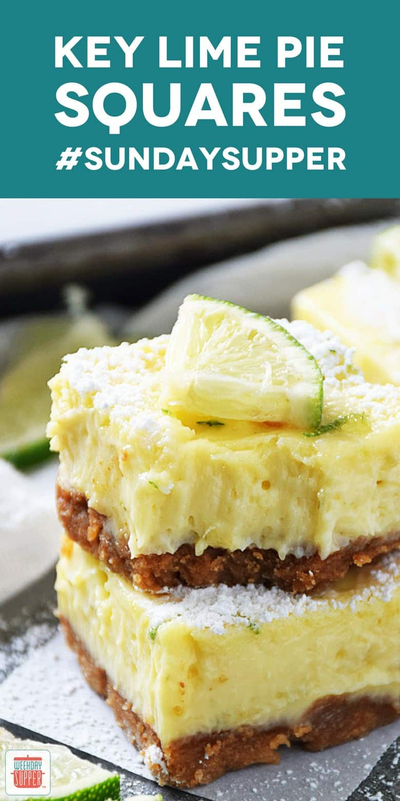 Key Lime Pie Squares - Pinterest
